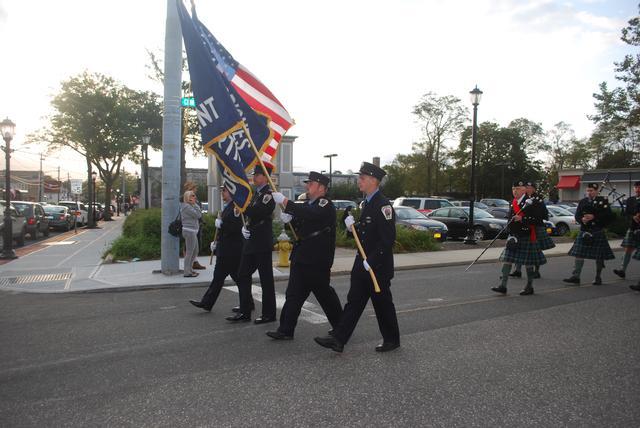 2011 9/11 Memorial Services - CMFD Color Guard