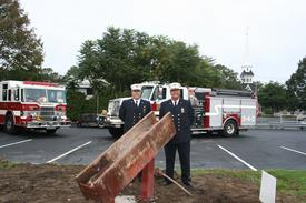 1st Asst Chief Primus & Chief Saetran (L to R)