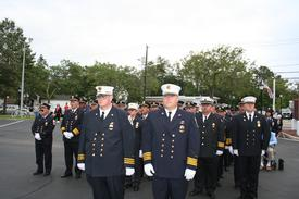 2nd Asst Chief Kuzmech III & 1st Asst Chief Primus (L to R)