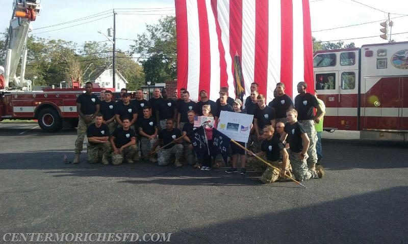 Center Moriches Fd Opens Its Doors To Active Military